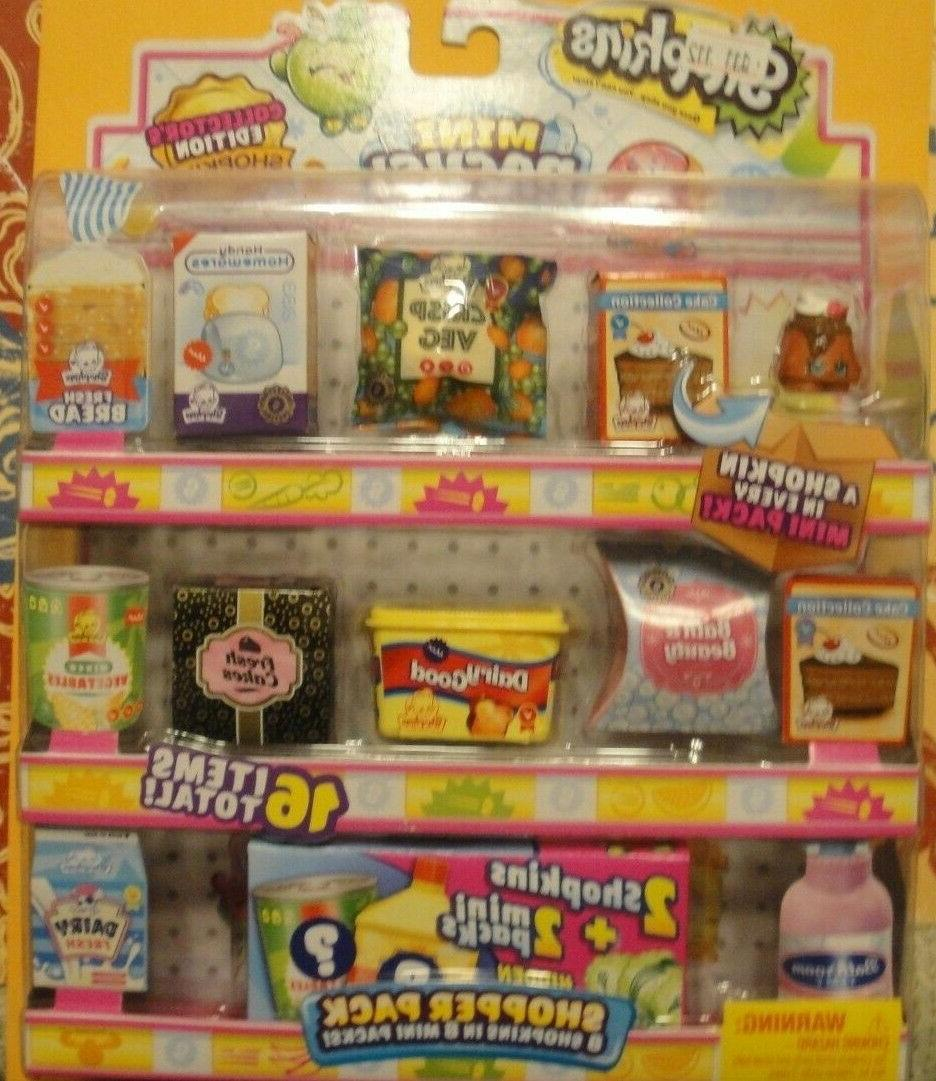 Shopkins Season 10 16 Mini Shoppers