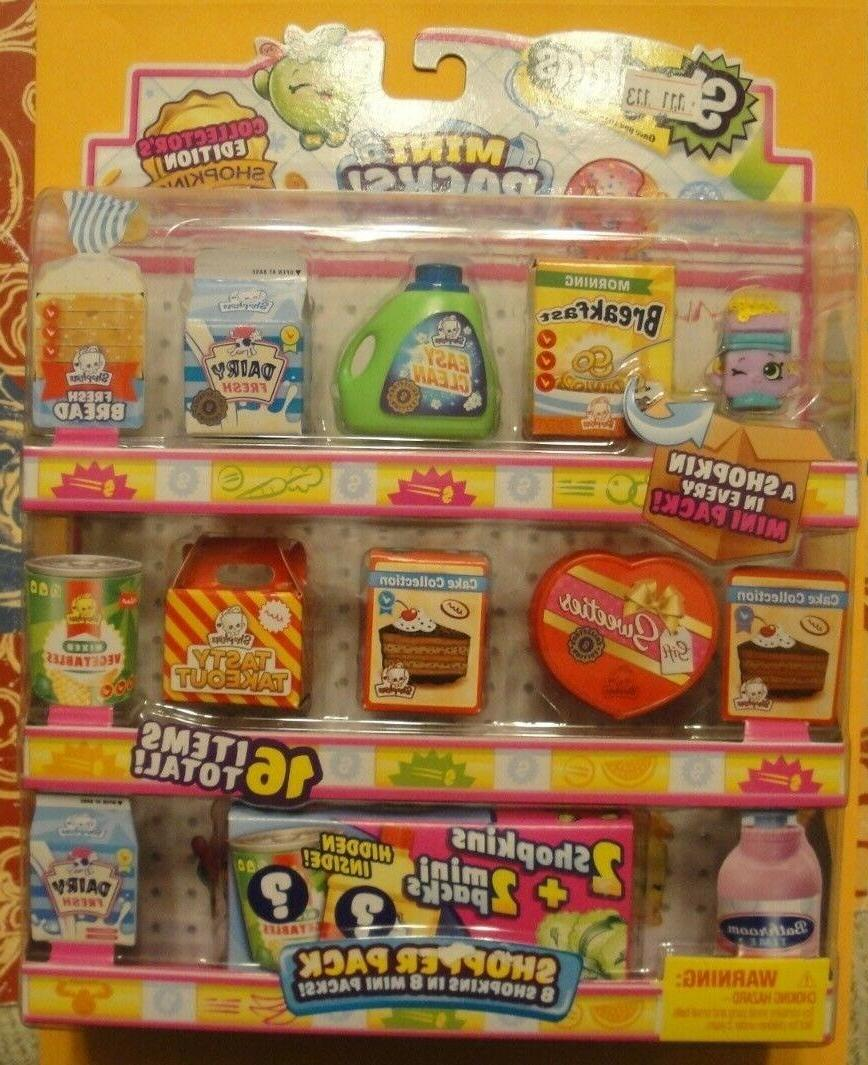 Shopkins 16 PACK Shoppers Pack