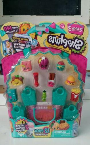 shopkins season 3 collectible 12pack 2hidden characters