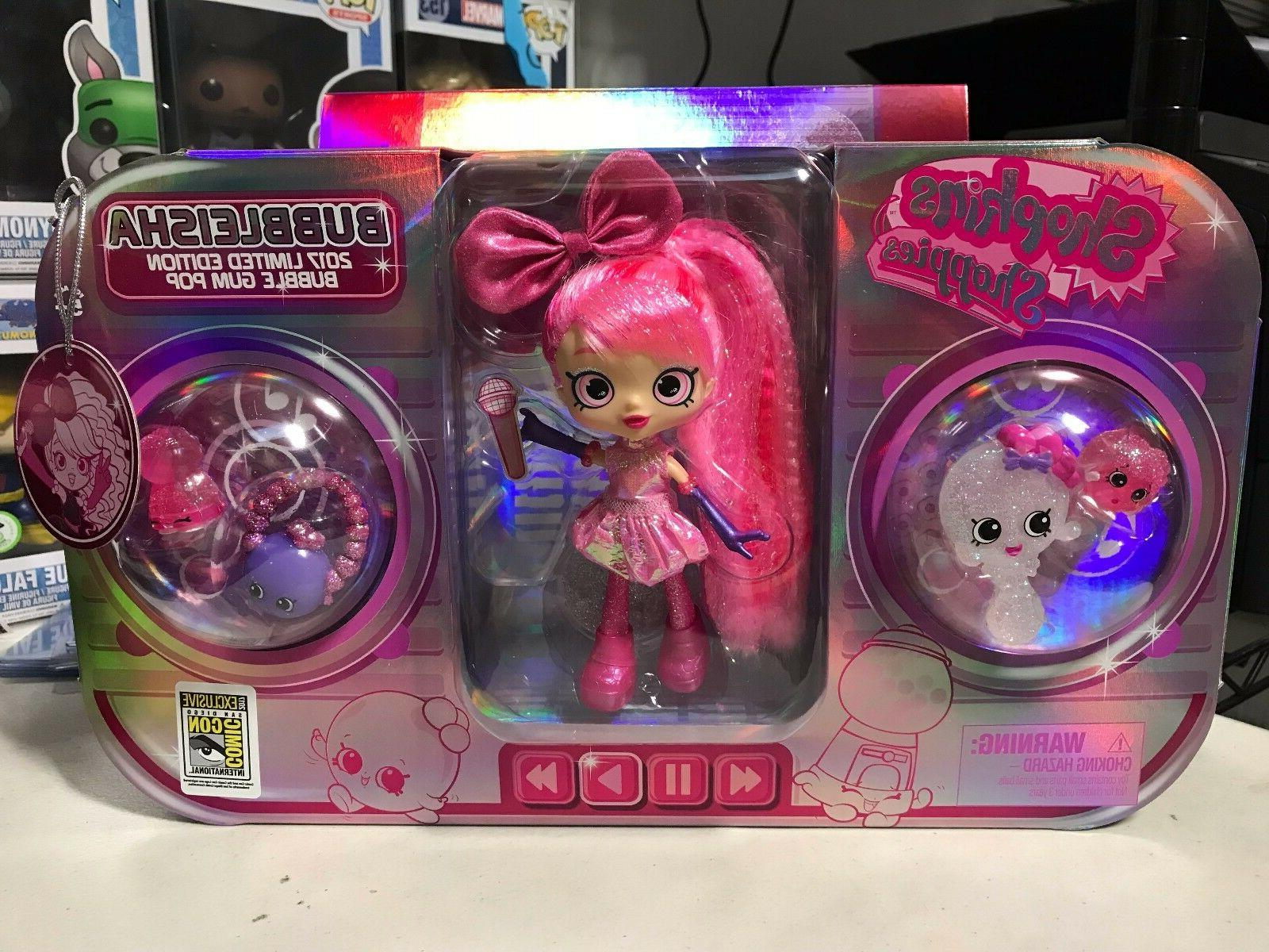 shopkins shoppies bubbleisha bubble gum doll 2017