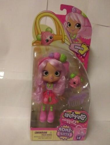 shopkins shoppies pommie doll new with pammy