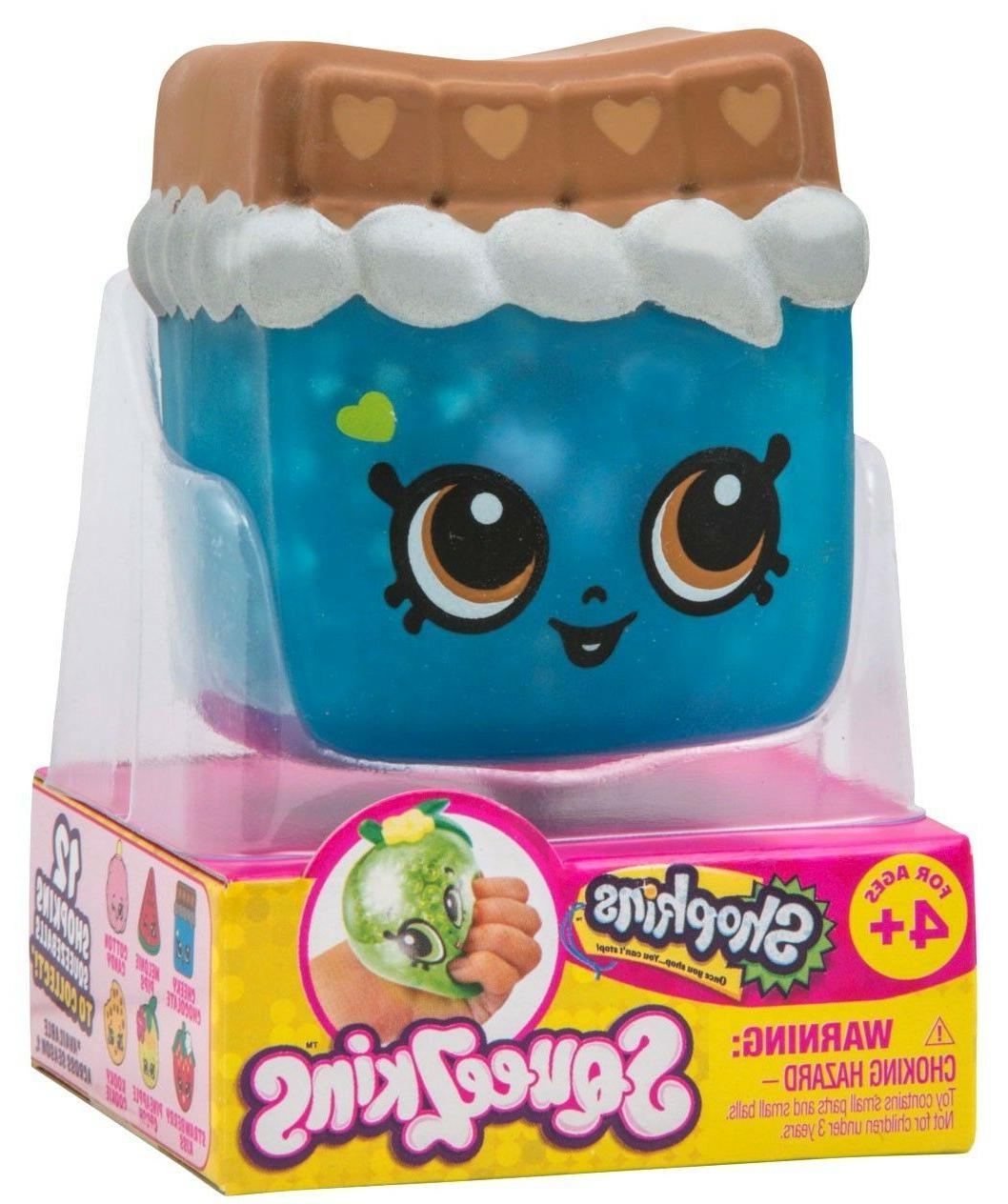 shopkins squeezkins cheeky chocolate cute squishy squeezable