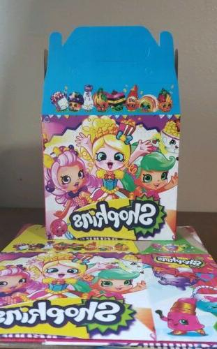 shopkins treat party favor boxes 10ct loot