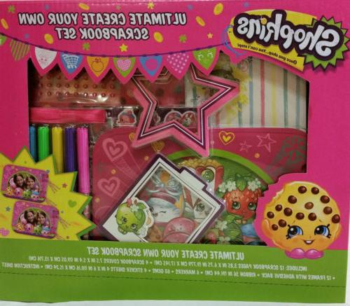 shopkins ultimate create your own scrapbook art