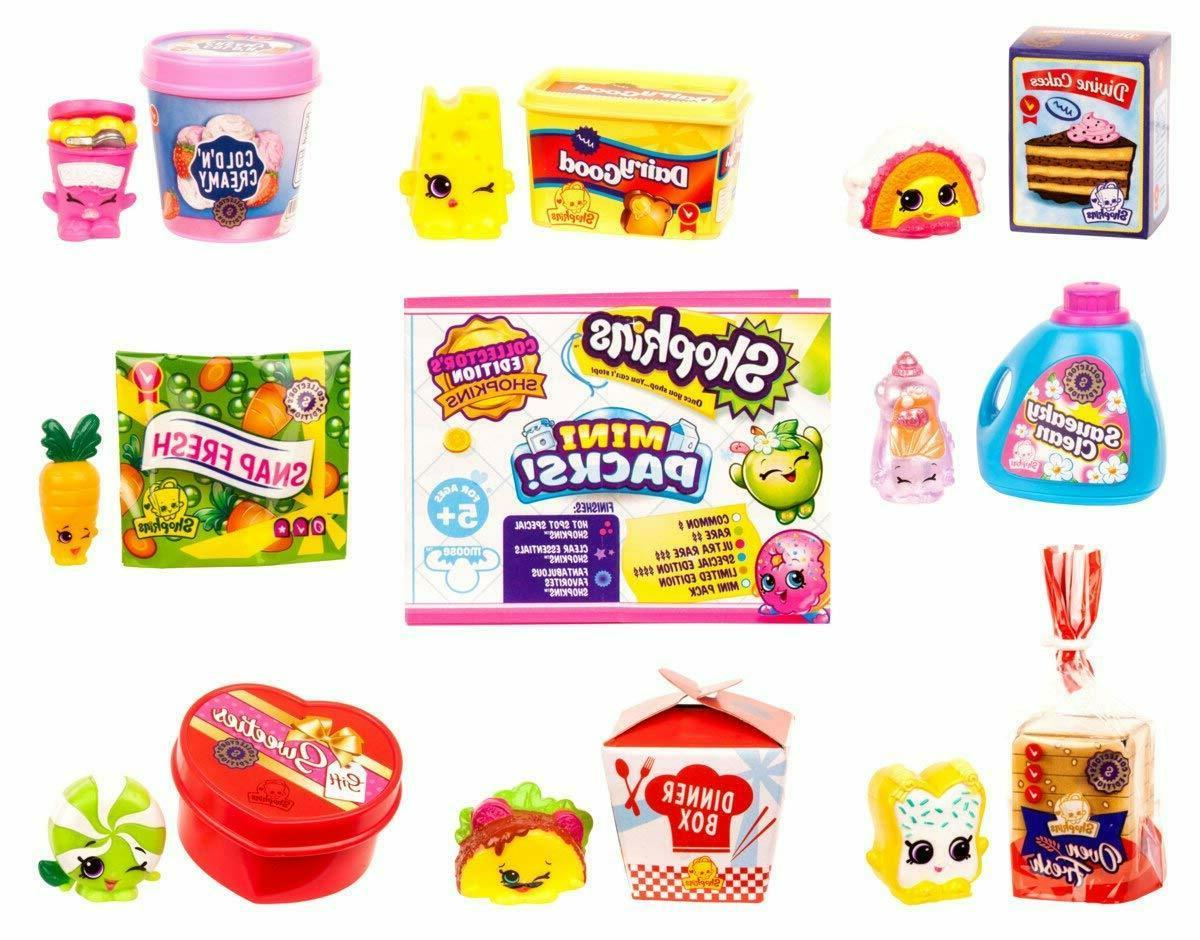 Shopkins Pack Mini Barbie Sized Food Packages