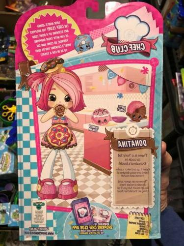 Shopkins Shoppies Doll Donatina Chef Season New