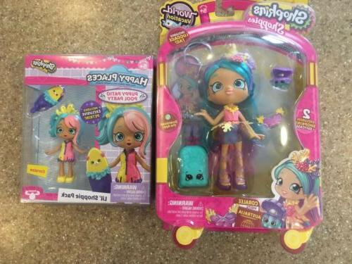 shoppies doll world vacation coralee new plus