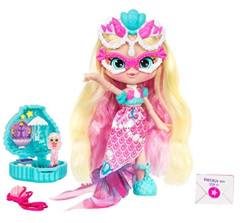Shopkins Lil Secrets Collectable Shoppie with Wearable Pearlina