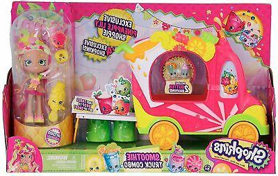 shoppies smoothie truck combo playset