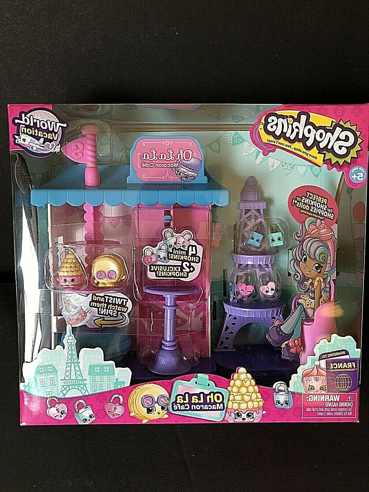 Shopkins MACY Doll OH CAFE