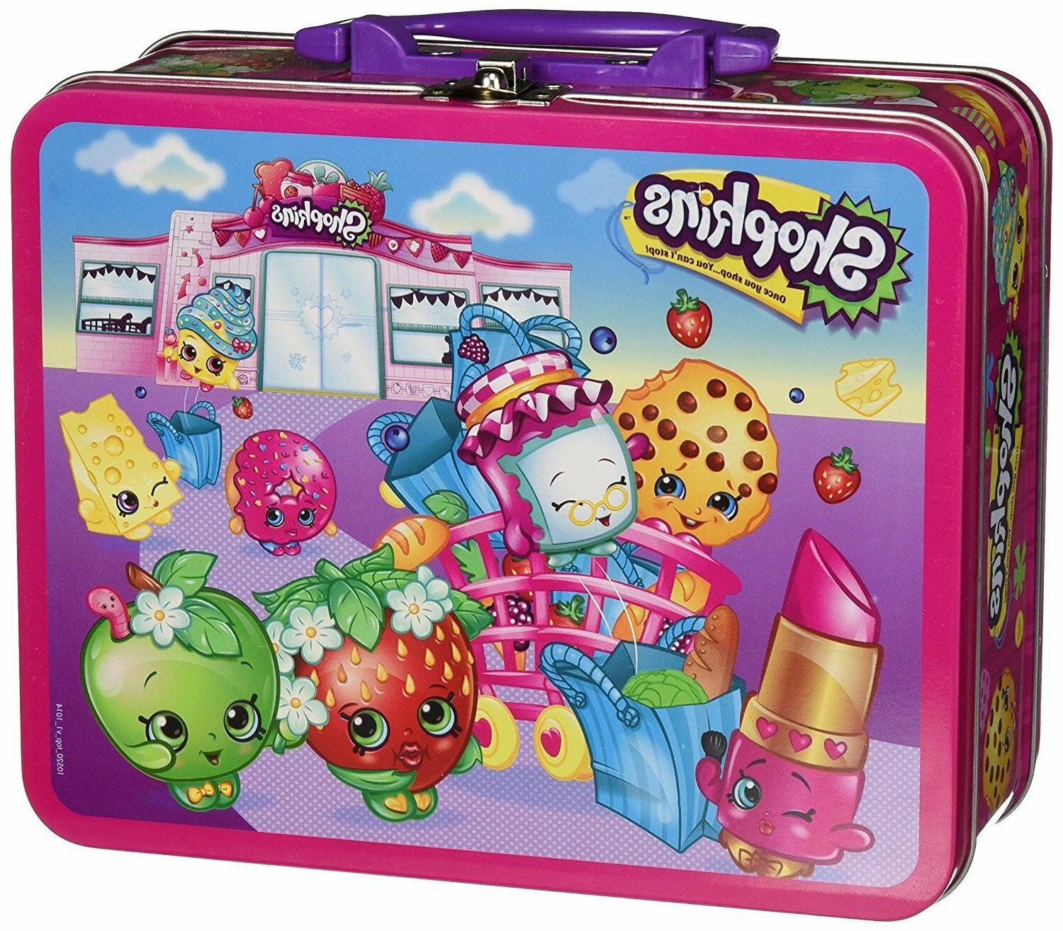 toys shopkins assortment in lunch box puzzle