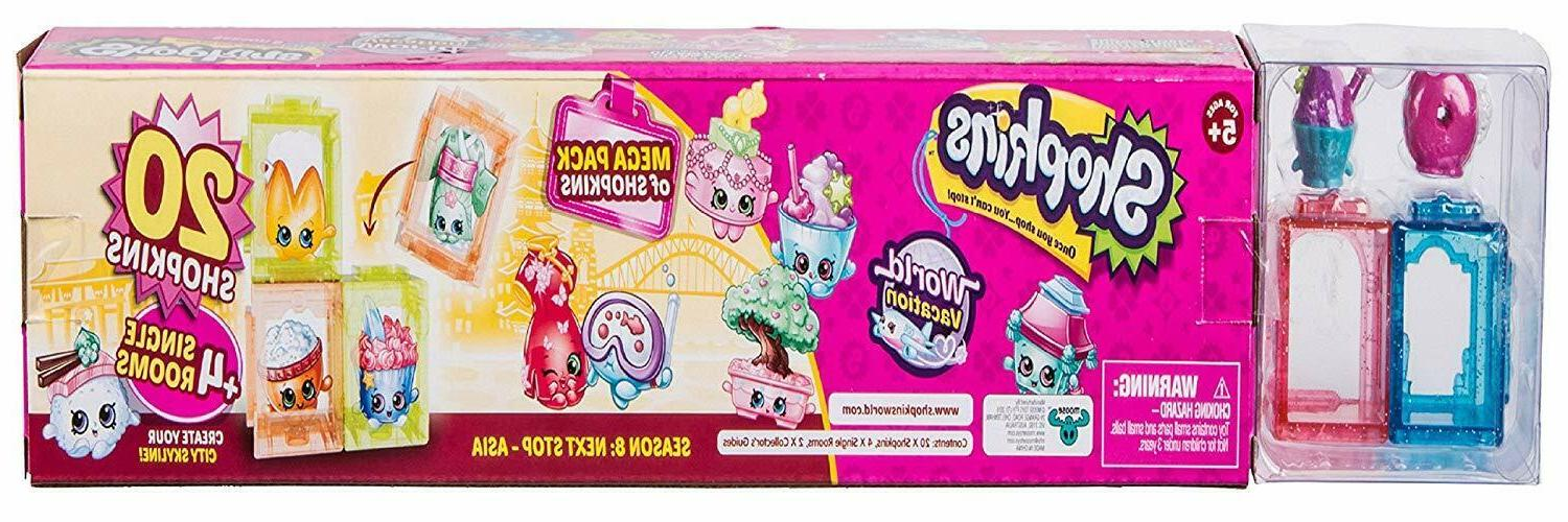 Shopkins World Vacation Mega Pack Officially Licensed NEW