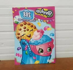 Licensed Moose Shopkins Collectible Activity Book: 288 Pages