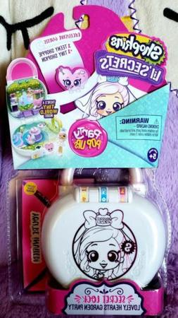 shopkins lil secrets lock party pop ups lovely hearts garden