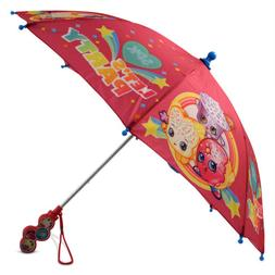 Shopkins Little Girls Assorted Character Rainwear Umbrella,
