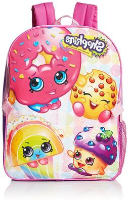 Shopkins Little Girls School Backpack Lunch Box Cute Pink St