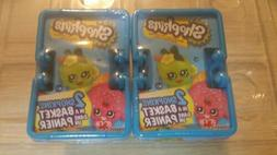Lot of 2 - Shopkins Season 1 Blind Baskets - 2 pack Shopkins