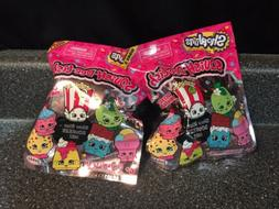 Lot of 2 SHOPKINS Squish-Dee-Lish Blind Bags Series 3 Squeez