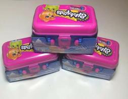 Lot Of 3 Shopkins Food Fair Season 7  SERIES 2 LUNCH BOX NEW