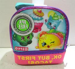 Lunch Bag - Shopkins - Ok But First Tacos