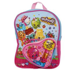 Shopkins Mini Backpack with Heart Shaped Front Pocket, 10