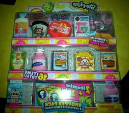 SHOPKINS  MINI SHOPPER 8 PACK - COLLECTOR'S EDITION SEASON 1