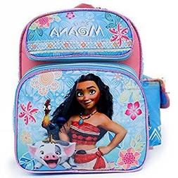 "Disney Moana SMALL toddler travel Backpack 12"" Inch book bag"