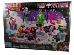Monster High Advent Calendar Playset Mega Bloks Building Toy