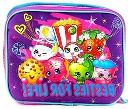 Moose Shopkins Besties for Life! Girls Canvas Insulated Lunc