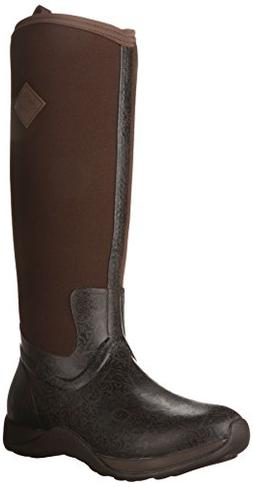 MuckBoots Women's Artic Adventure Snow Boot,Brown/Black Azte