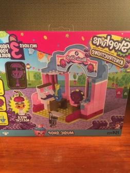 SHOPKINS MUSIC SHOP NIB INCLUDES 3 FIGURES