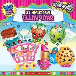 """New SHOPKINS Book """"Welcome to Shopville"""" FREE SHIPPING! no L"""