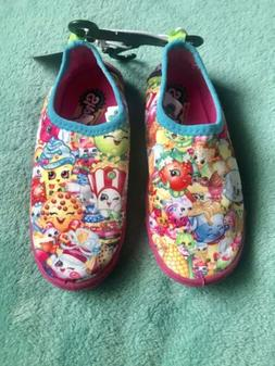 New Shopkins Girls Water Shoes Multicolor Size