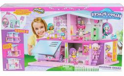 New Shopkins Happy Places Grand Mansion Home Dollhouse House