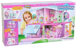 NEW Happy Places Shopkins Grand Mansion Playset House Christ