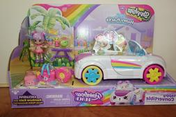 NEW Shopkins Happy Places Rainbow Beach Convertible