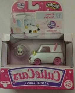 New Hot! Shopkins Cutie Cars, #17 Zoomy Noodles, with Mini S