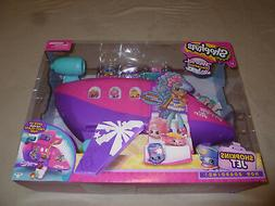 NEW IN BOX SHOPKINS JET PLANE 8 3 EXCLUSIVE WORLD VACATION C