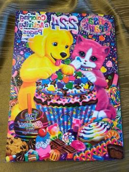 NEW Lisa Frank 💗 224-Page Coloring and Activity Book with
