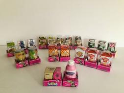 NEW! Shopkins Lot of 20 Collector's Tasty Takeout Mini  Pack