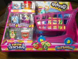 New Shopkins Pink Shopping Cart Small Mart Shoppin' With E