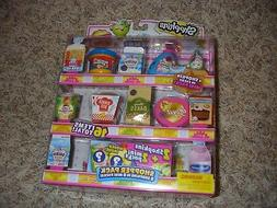 New Shopkins season 10 Shopper Pack 16 items 8 shopkins 8 mi