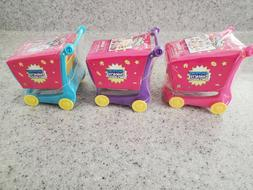NEW Shopkins 50pc Puzzle, Shopping Cart and 1 Shopkin Figure