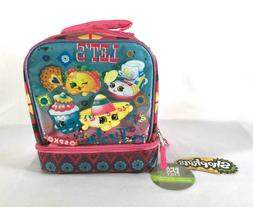 NEW Shopkins LET'S FIESTA Insulated Pink Turquoise Lunch Bag