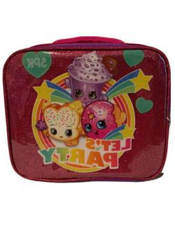 NEW SHOPKINS Let's Party LUNCH BOX BAG