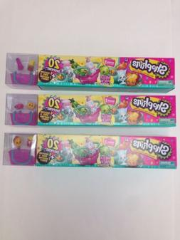 New SHOPKINS Season 3 MEGA Pack 20 - COMPLETE 3 Pack *** 60