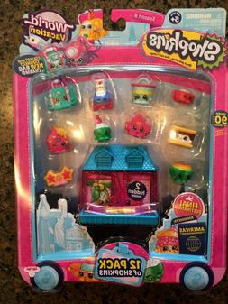 NEW Shopkins Season 8 World Vacation 12 pack Boarding to Ame
