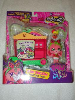 NEW SHOPKINS WILD STYLE MELONIE HOPS & HOPPY JUICE CART