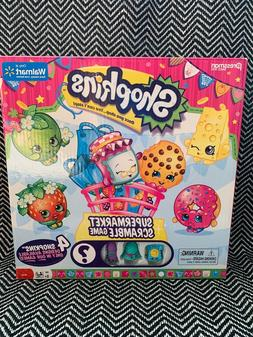 NEW Shopkins Supermarket Scramble Game - Ages 5+, Pressman G