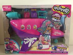 NEW Shopkins World Vacation Jet Plane Playset w/ 3 Exclusive